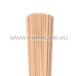 Körperfarbe / Pfirsich, 4mm Quilling Papierstreifen (110 Stück, 49 cm)