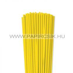 Gelb, 5mm Quilling Papierstreifen (100 Stück, 49 cm)
