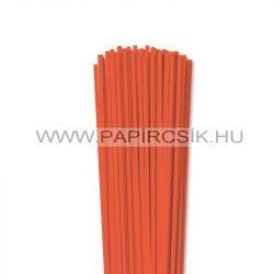 Orange, 4mm Quilling Papierstreifen (110 Stück, 49 cm)