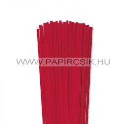 Leuchtend Rot, 5mm Quilling Papierstreifen (100 Stück, 49 cm)