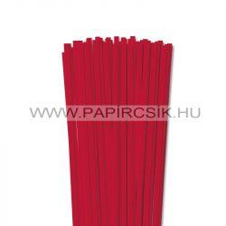 Leuchtend Rot, 6mm Quilling Papierstreifen (90 Stück, 49 cm)