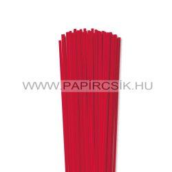 Rot, 4mm Quilling Papierstreifen (110 Stück, 49 cm)