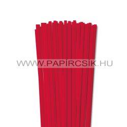 Rot, 6mm Quilling Papierstreifen (90 Stück, 49 cm)