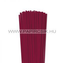 Kirschfarbe, 5mm Quilling Papierstreifen (100 Stück, 49 cm)