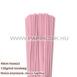 Rosa, 3mm Quilling Papierstreifen (120 Stück, 49 cm)