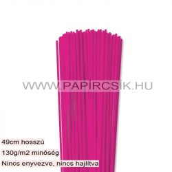 Pink, 3mm Quilling Papierstreifen (120 Stück, 49 cm)