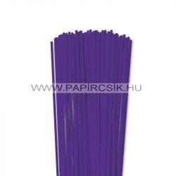 Violett, 4mm Quilling Papierstreifen (110 Stück, 49 cm)
