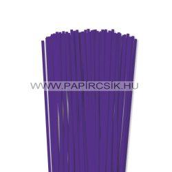 Violett, 5mm Quilling Papierstreifen (100 Stück, 49 cm)