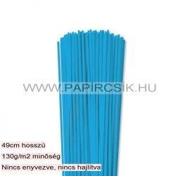 Pazifik-Blau, 3mm Quilling Papierstreifen (120 Stück, 49 cm)