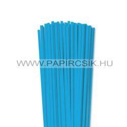 Pazifik-Blau, 5mm Quilling Papierstreifen (100 Stück, 49 cm)