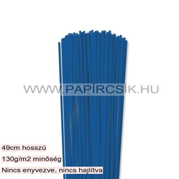 Königsblau, 3mm Quilling Papierstreifen (120 Stück, 49 cm)