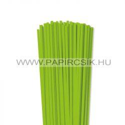 Hellgrün, 5mm Quilling Papierstreifen (100 Stück, 49 cm)
