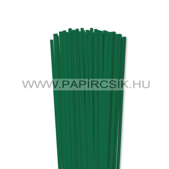 Dunkelgrün, 5mm Quilling Papierstreifen (100 Stück, 49 cm)