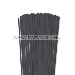 Antracit, 5mm Quilling Papierstreifen (100 Stück, 49 cm)