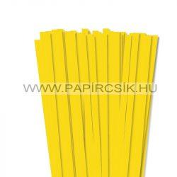 Gelb, 10mm Quilling Papierstreifen (50 Stück, 49 cm)