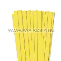 Zitronengelb, 10mm Quilling Papierstreifen (50 Stück, 49 cm)