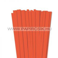 Orange, 10mm Quilling Papierstreifen (50 Stück, 49 cm)