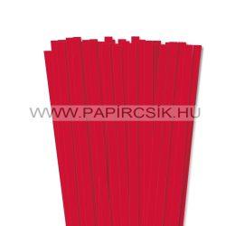 Rot, 10mm Quilling Papierstreifen (50 Stück, 49 cm)