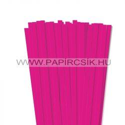 Pink, 10mm Quilling Papierstreifen (50 Stück, 49 cm)