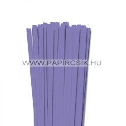 Liláskék, 10mm-es quilling papírcsík (50db, 49cm)