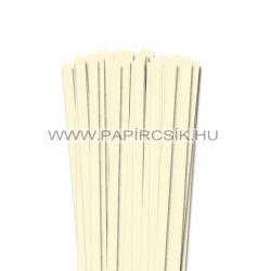 Elfenbein, 10mm Quilling Papierstreifen (50 Stück, 49 cm)
