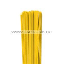 Gelb, 2mm Quilling Papierstreifen (120 Stück, 49 cm)