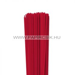 Leuchtend Rot, 2mm Quilling Papierstreifen (120 Stück, 49 cm)