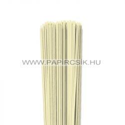 Vanille, 2mm Quilling Papierstreifen (120 Stück, 49 cm)