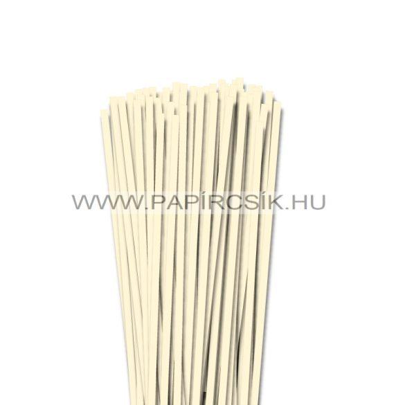 Elfenbein, 5mm Quilling Papierstreifen (100 Stück, 49 cm)