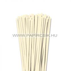 Elfenbein, 6mm Quilling Papierstreifen (90 Stück, 49 cm)