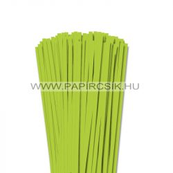 Frühlingsgrün, 6mm Quilling Papierstreifen (90 Stück, 49 cm)