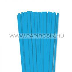 Pazifik-Blau, 7mm Quilling Papierstreifen (80 Stück, 49 cm)