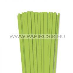 Mai-Grün, 7mm Quilling Papierstreifen (80 Stück, 49 cm)