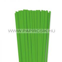 Grasgrün, 7mm Quilling Papierstreifen (80 Stück, 49 cm)