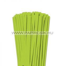 Frühlingsgrün, 7mm Quilling Papierstreifen (80 Stück, 49 cm)