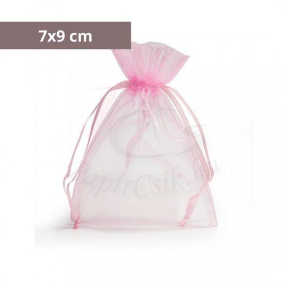 Organzabeutel (7x9cm, pink)