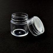 Plastikdose mit Schraube (25x29mm, 1 Stück)