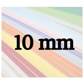 10mm-es quilling papírcsíkok